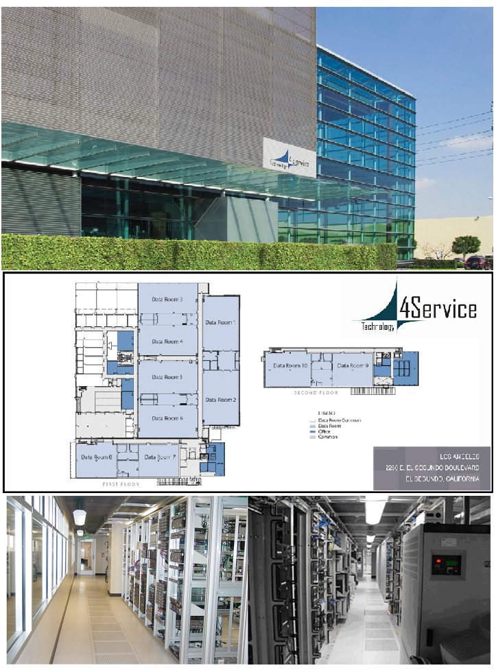 4service data center in los angeles